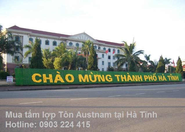 Đại lý tấm lợp tôn Austnam tại Hà Tĩnh