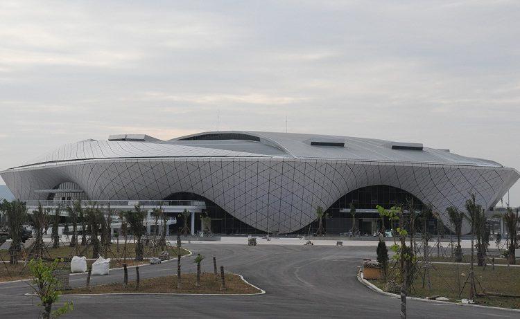 Toàn cảnh NTĐ đa năng thuộc Trung tâm Thể thao tỉnh Quảng Ninh