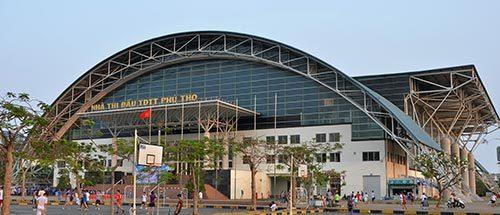 Nhà thi đấu thể dục thể thao Phú Thọ - Tôn austnam