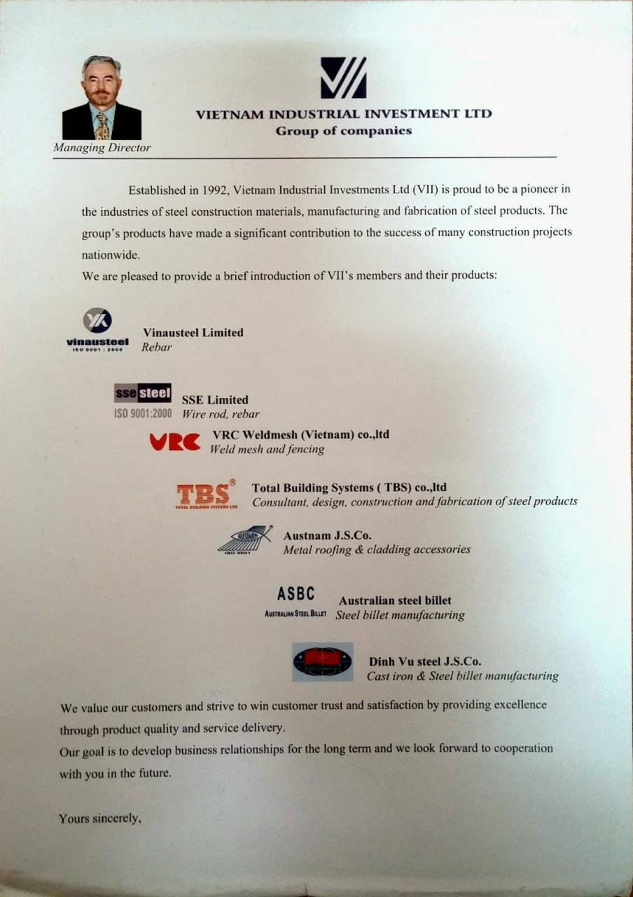 Công ty Cổ phần Austnam là thành viên Tập đoàn công nghiệp Úc