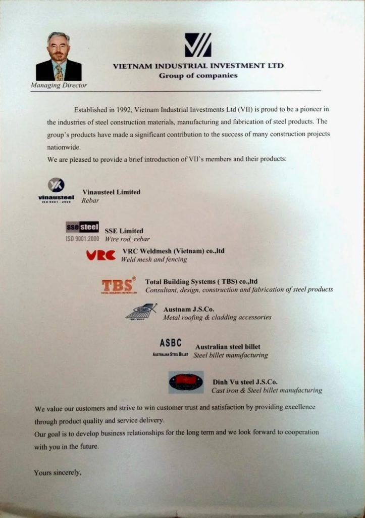 Công ty Cổ phần Austnam thành viên Tập đoàn đầu tư Công nghiệp Úc